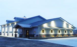Troy Built Buildings - Custom Built Pole Barns and Metal Buildings on