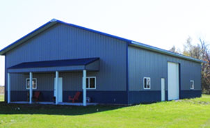 40x60 pole barn with living quarters workshop 42 72 troy built buildings custom pole barns and metal