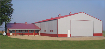Troy Built Buildings Custom Built Pole Barns And Metal